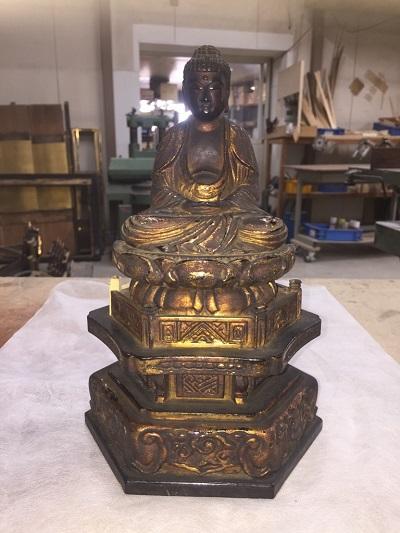 180512-1永井様仏像塗り箔修理前
