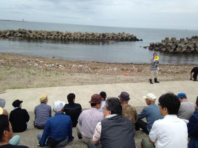 海岸清掃説明
