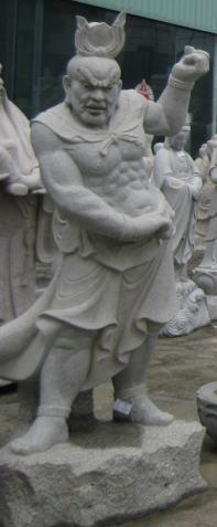 仁王像(御影石製)