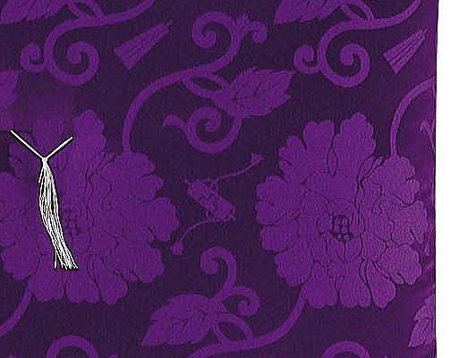 御前座布団・カロヤンドンス・紫の説明