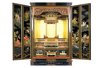 三国型仏壇 三国型仏壇 福井の三国地域には三国型仏壇があります。北前船によって京都... 仏壇
