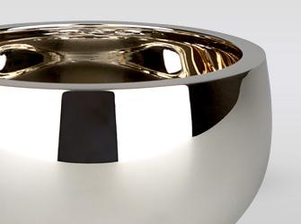 純銀製おりんセット 大越仏壇
