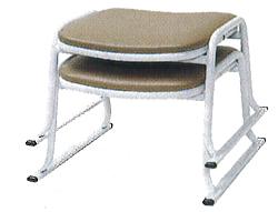 本堂用椅子:パイプ椅子(スチール製)の説明