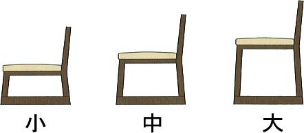 本堂用お詣り椅子・木製の並び説明