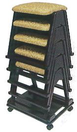 本堂用椅子YR台車